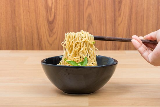 Hot and spicy lap instant noodle
